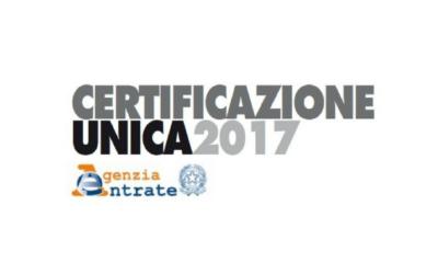 Dati Aziendali per la Certificazione Unica