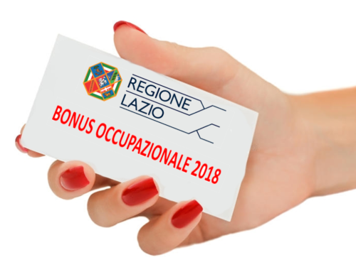 Bonus assunzionale per le imprese 2018 da Regione Lazio